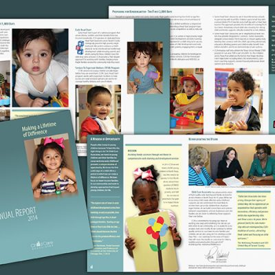 Child Care Associates Annual Report/Fort Worth, TX