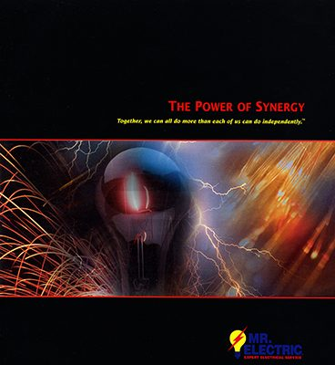 Mr. Electric franchisor brochure design/Waco, TX