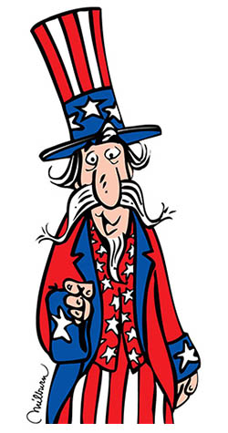 Friendly Uncle Sam