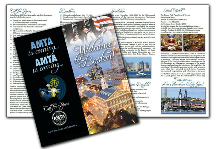 AMTA Conference brochure/Boston, MA