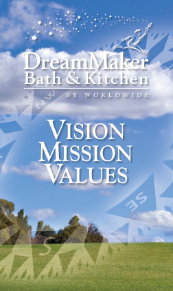 DreamMaker franchisor brochure cover/Waco, TX