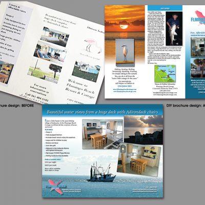 Flamingo Beach Cottage brochue/Indianola, TX