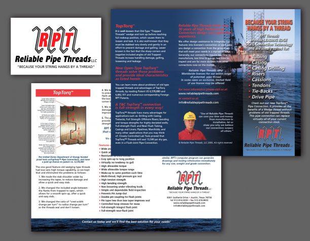 RPT brochure design/Austin, TX