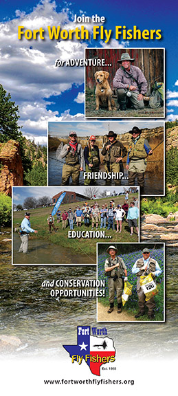 Fort Worth Fly Fishers rack card